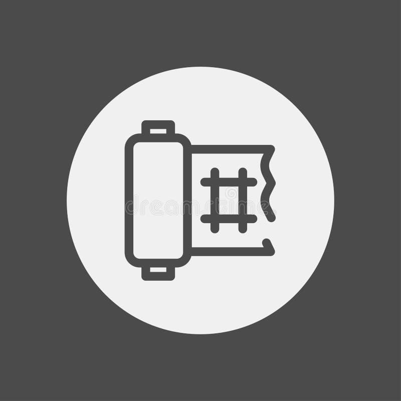 Simbolo del segno dell'icona di vettore della fasciatura illustrazione vettoriale