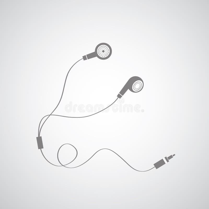 Simbolo del trasduttore auricolare royalty illustrazione gratis