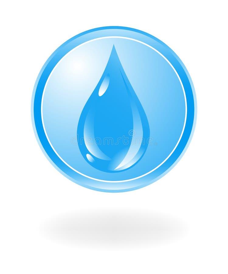 Simbolo dell'acqua illustrazione vettoriale