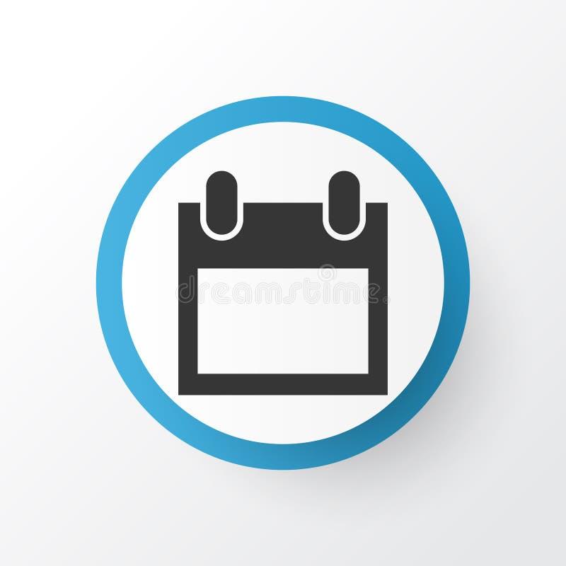 Simbolo Calendario.Icona Di Simbolo Del Calendario Illustrazione Vettoriale