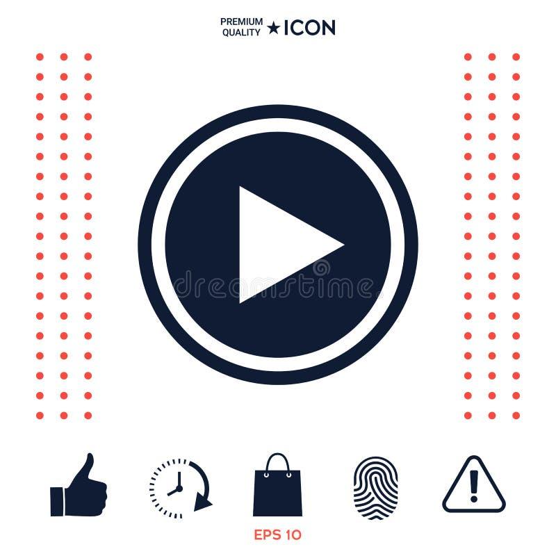 Download Simbolo Dell'icona Del Gioco Illustrazione Vettoriale - Illustrazione di simbolo, moderno: 117976342