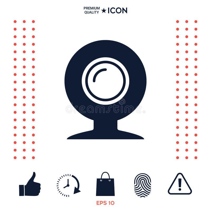 Download Simbolo Dell'icona Del Webcam Illustrazione Vettoriale - Illustrazione di obiettivo, rete: 117977593
