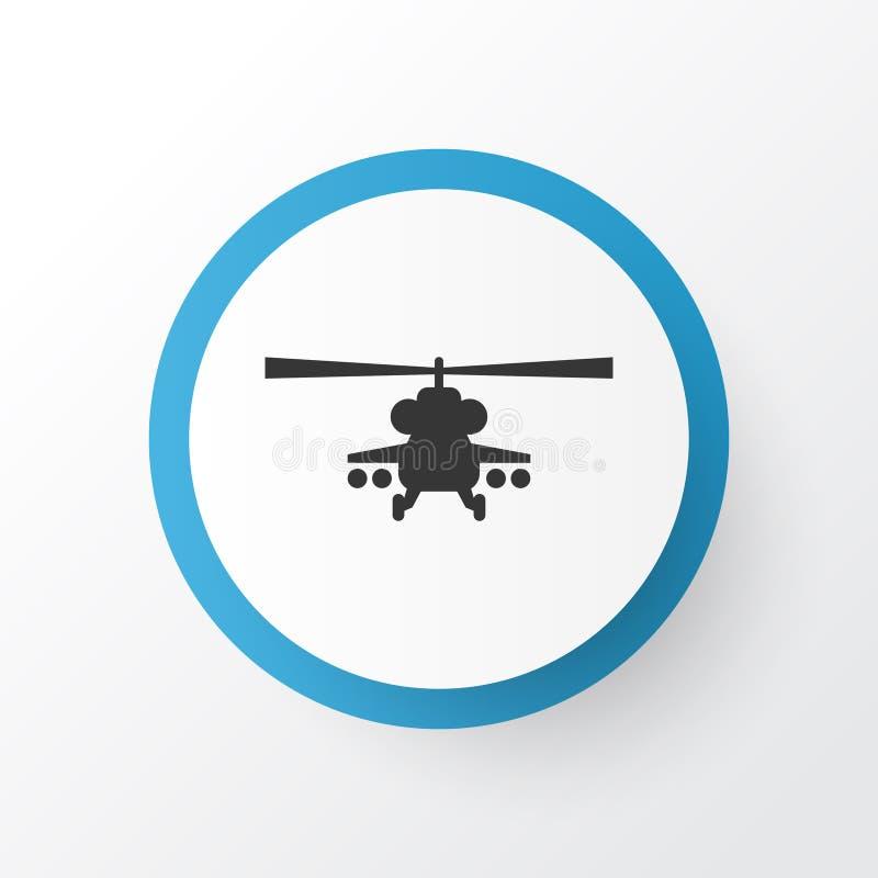 Simbolo dell'icona dell'elicottero Chopper Element In Trendy Style isolato qualità premio royalty illustrazione gratis