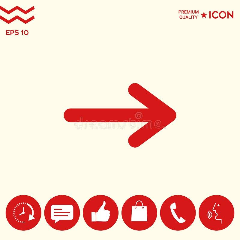 Download Simbolo Dell'icona Della Freccia Illustrazione Vettoriale - Illustrazione di utente, posizione: 117982109