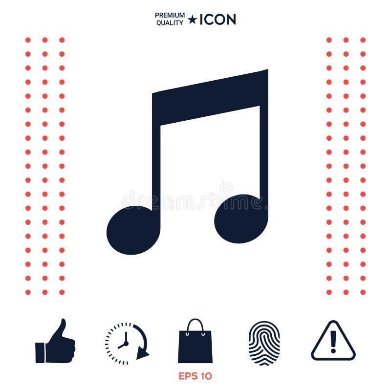 Download Simbolo Dell'icona Di Musica Illustrazione Vettoriale - Illustrazione di gruppo, estratto: 117976083