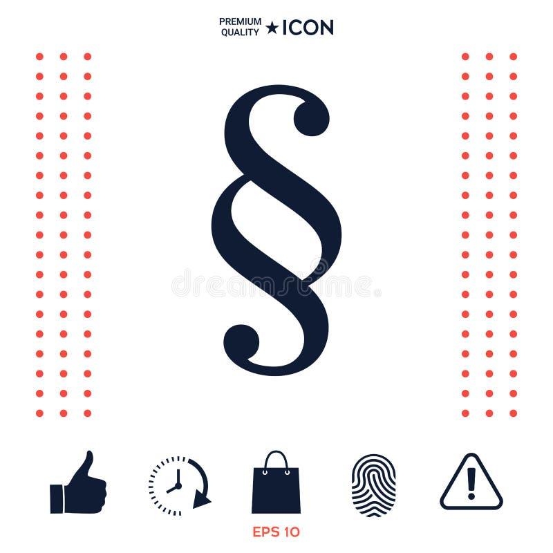 Download Simbolo Dell'icona Di Paragrafo Illustrazione Vettoriale - Illustrazione di concetto, estratto: 117976198