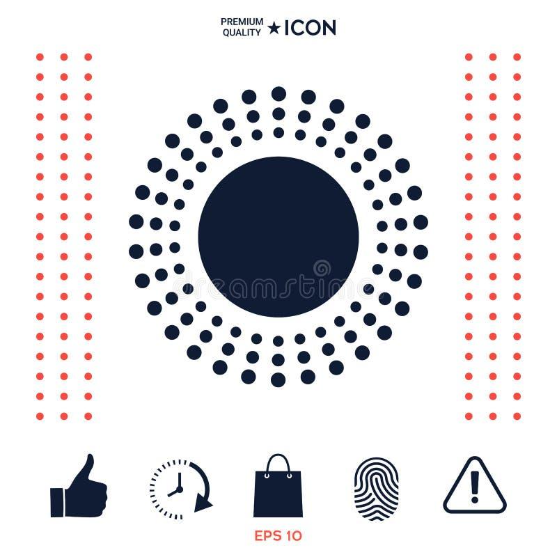 Download Simbolo dell'icona di Sun illustrazione vettoriale. Illustrazione di segno - 117977195