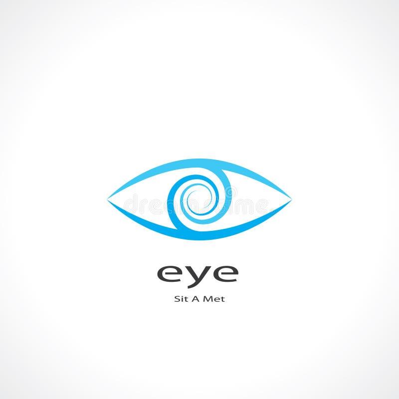 Simbolo dell'occhio illustrazione vettoriale