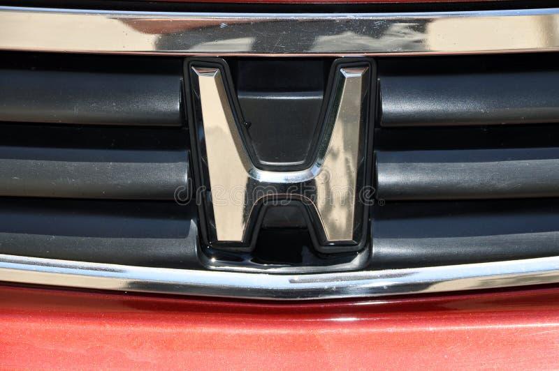 Simbolo della Honda fotografia stock libera da diritti