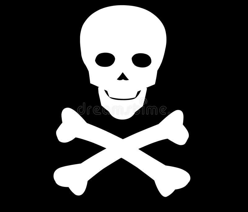 Simbolo della morte illustrazione di stock