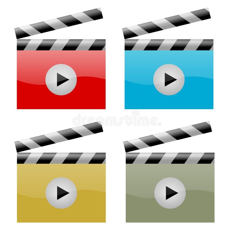 Simbolo della pellicola royalty illustrazione gratis