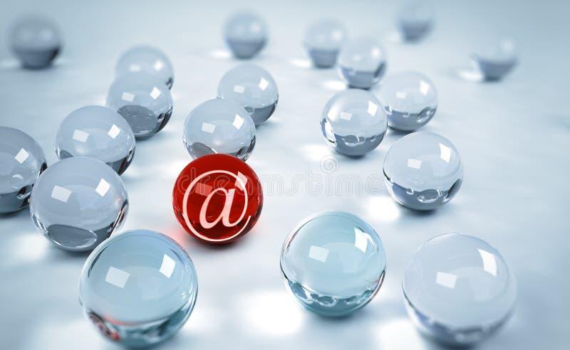 Simbolo della posta royalty illustrazione gratis