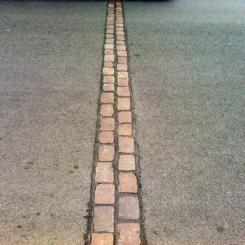 Simbolo della separazione di strade, idee, azioni, ecc. fotografie stock