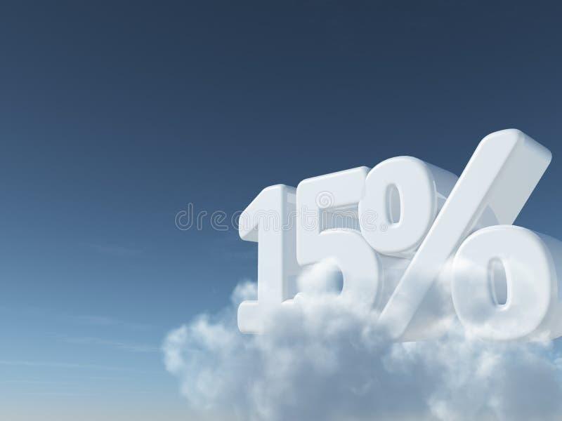 Simbolo delle percentuali e di numero royalty illustrazione gratis