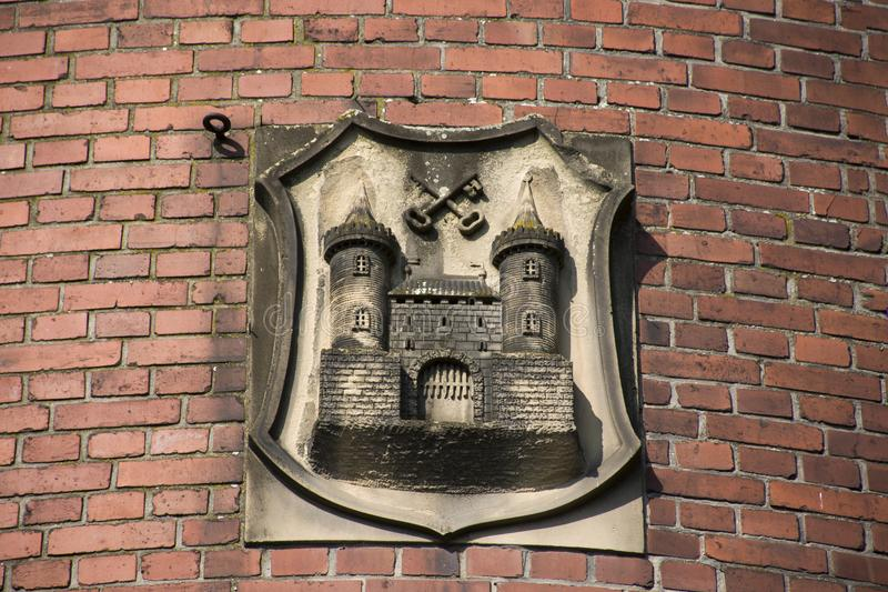 Simbolo di arte della scultura e di scultura del museo di Lobdengau fotografia stock