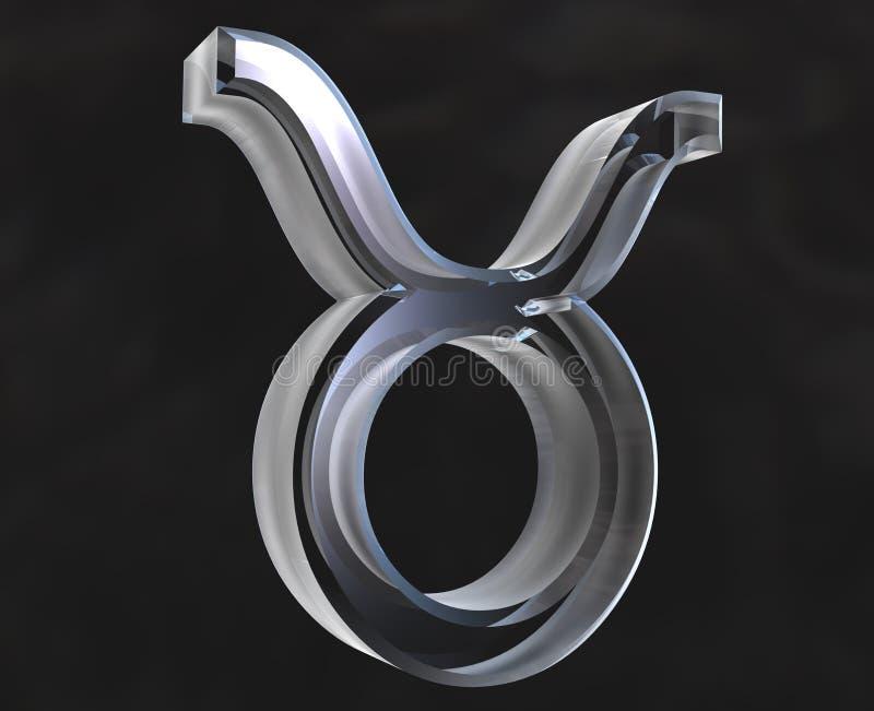 Simbolo di astrologia del Taurus royalty illustrazione gratis