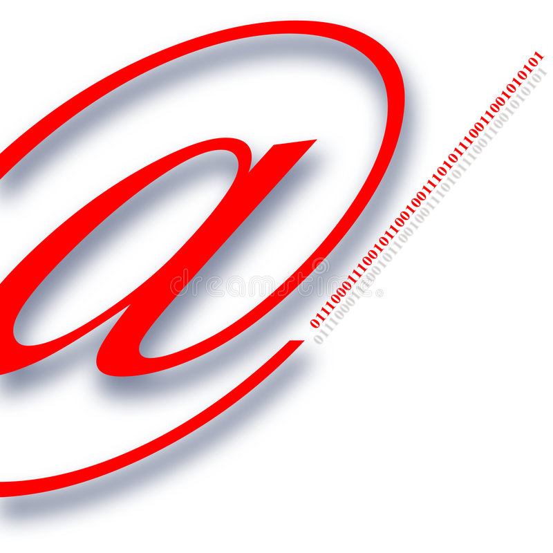 Simbolo Di Comunicazione Fotografia Stock