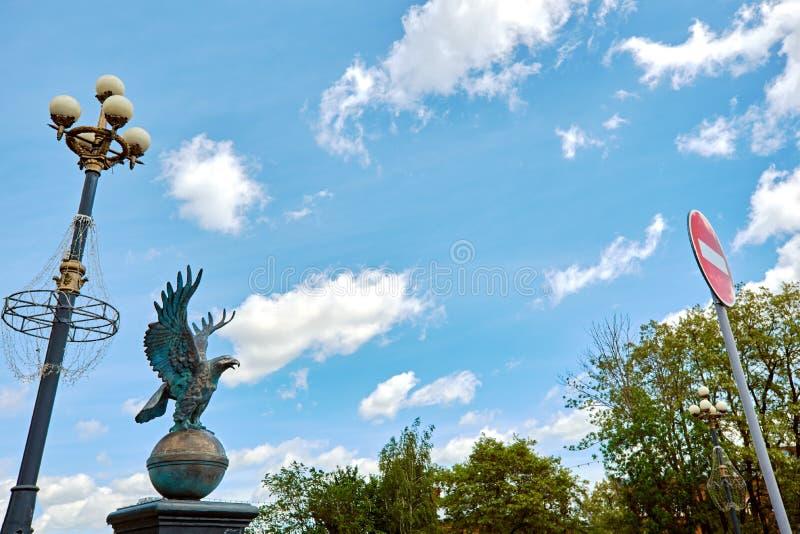 Simbolo di Eagle della città immagine stock libera da diritti
