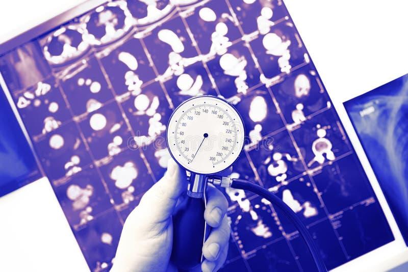 Simbolo di esame medico fotografia stock libera da diritti