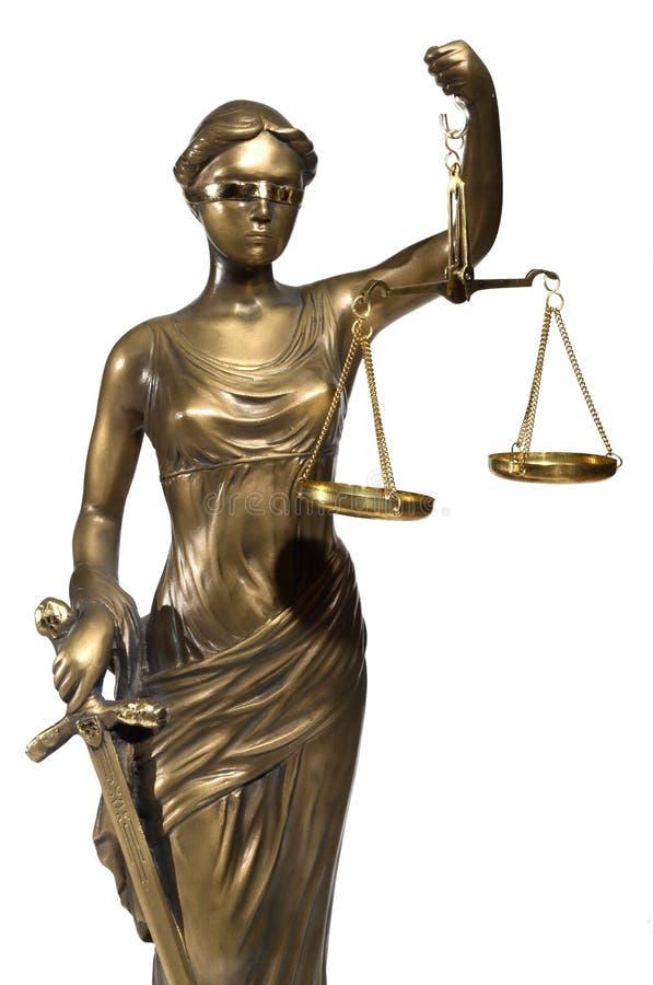 Simbolo di giustizia immagine stock
