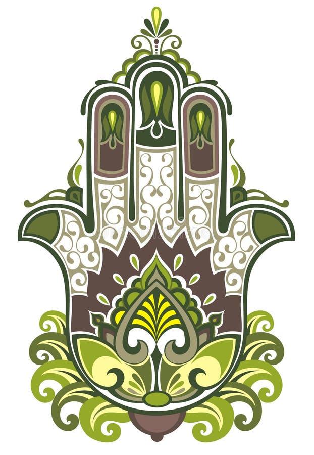 Simbolo di Hamsa royalty illustrazione gratis