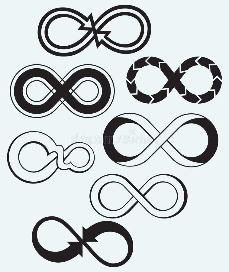 Simbolo di infinito royalty illustrazione gratis