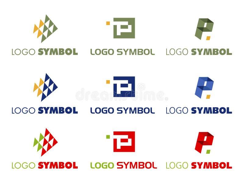 Simbolo di marchio   illustrazione di stock