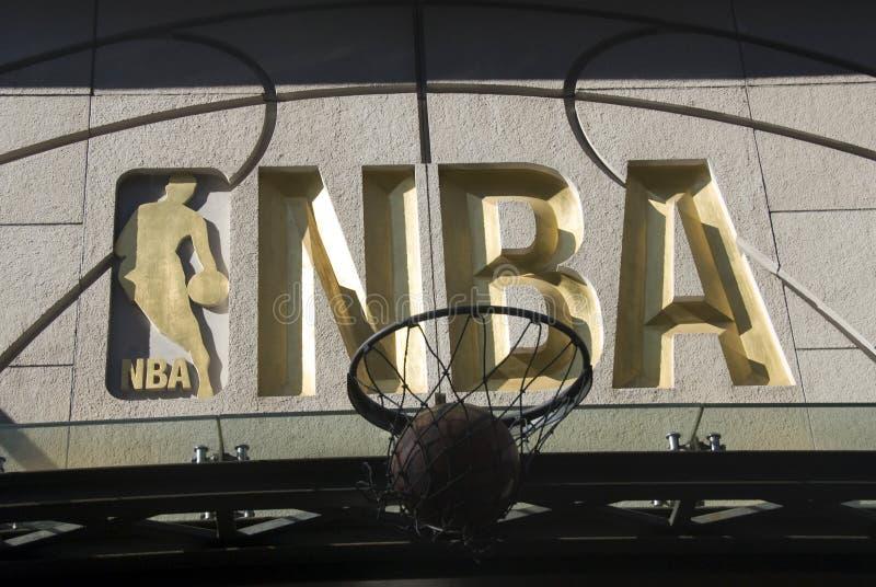 Simbolo di NBA fotografie stock