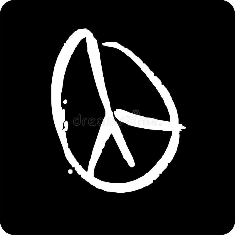 Simbolo di pace illustrazione vettoriale