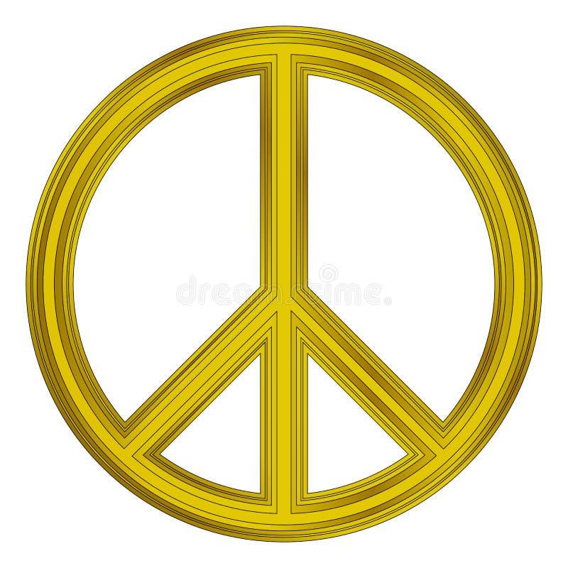 Simbolo di pace royalty illustrazione gratis