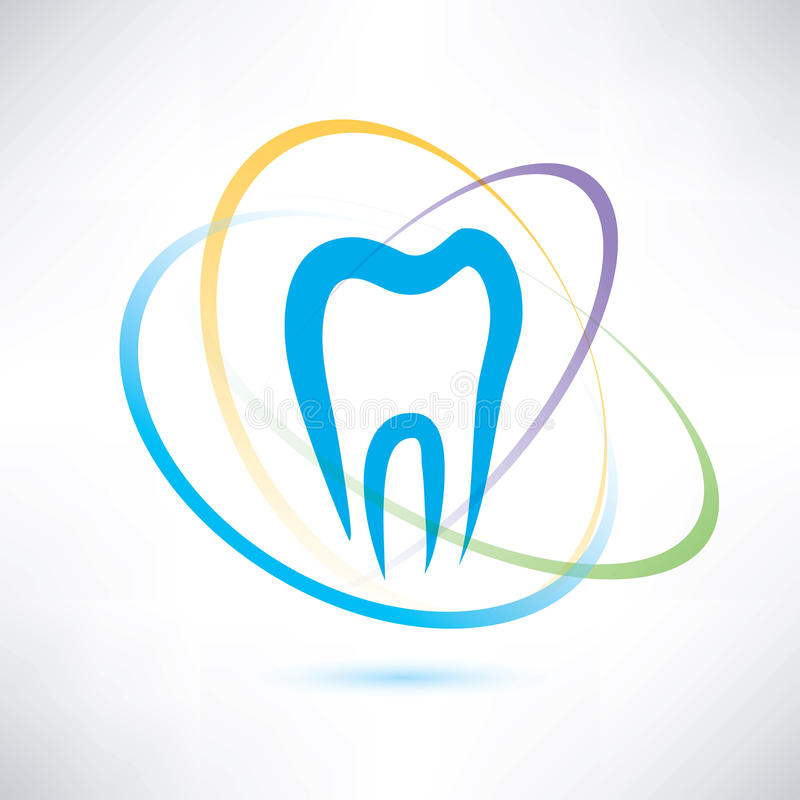 Simbolo di protezione del dente illustrazione vettoriale