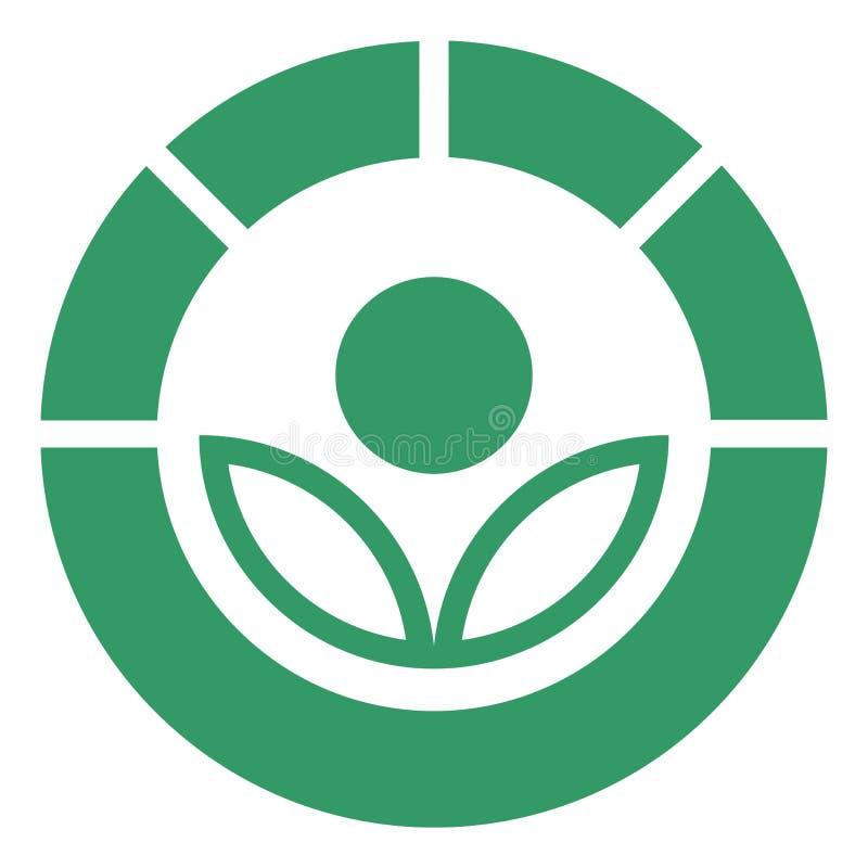 Simbolo di Radura illustrazione di stock