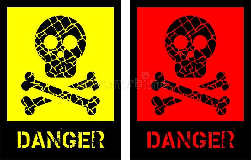 Simbolo di rischio royalty illustrazione gratis