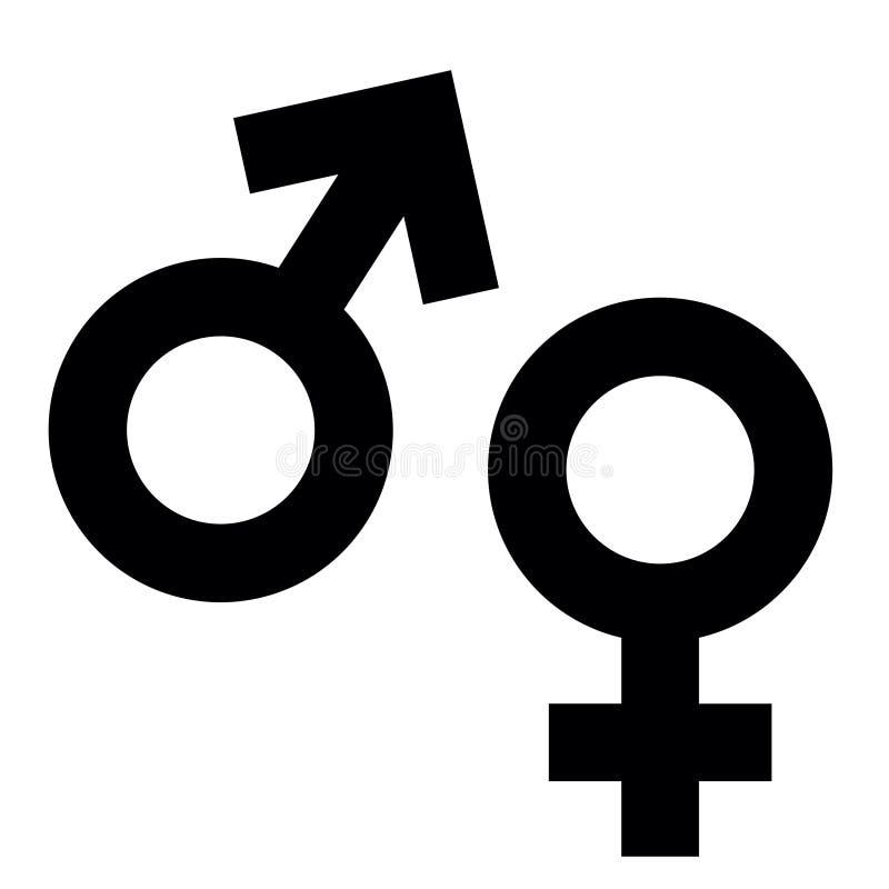 Simbolo di sesso illustrazione vettoriale