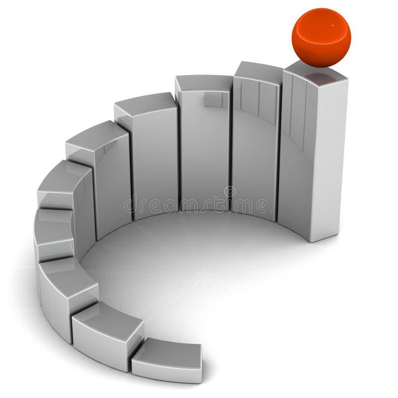 Simbolo di sviluppo illustrazione di stock