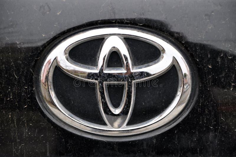 Simbolo di Toyoto fotografia stock