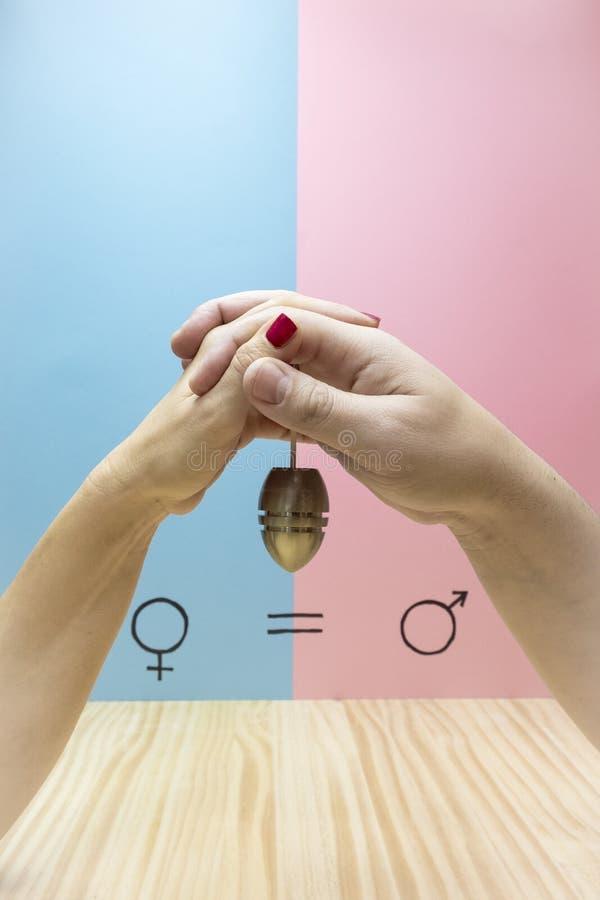 Simbolo di uguaglianza di genere immagine stock
