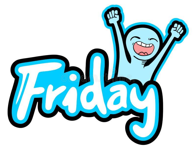 Simbolo di venerdì royalty illustrazione gratis