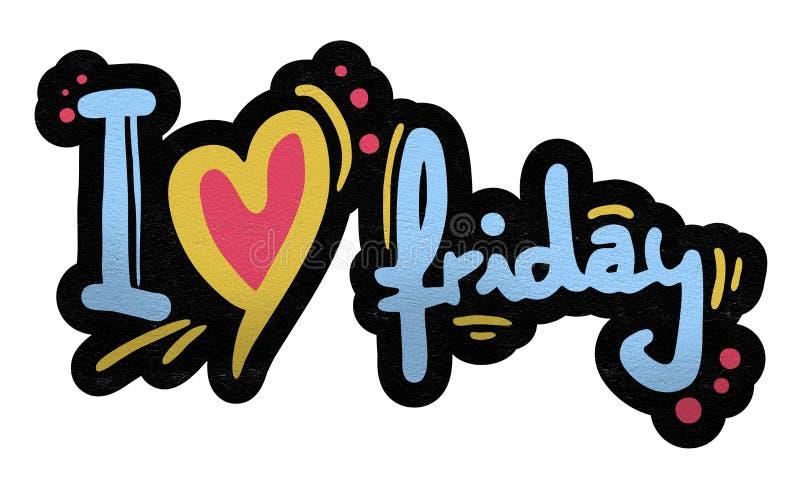 Simbolo di venerdì di amore royalty illustrazione gratis