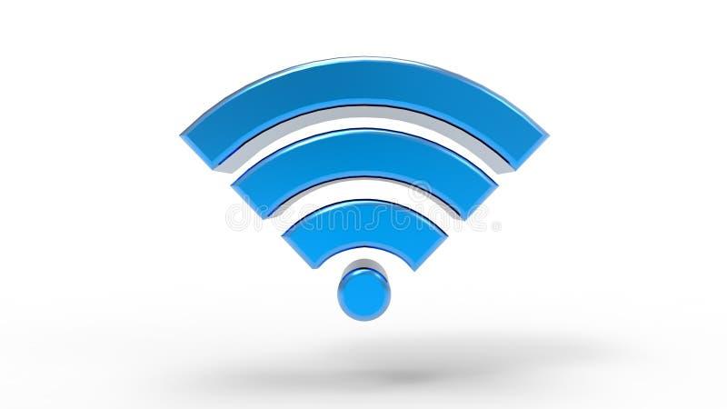 Simbolo di Wifi illustrazione di stock