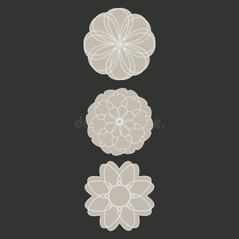 Simbolo geometrico fotografie stock libere da diritti