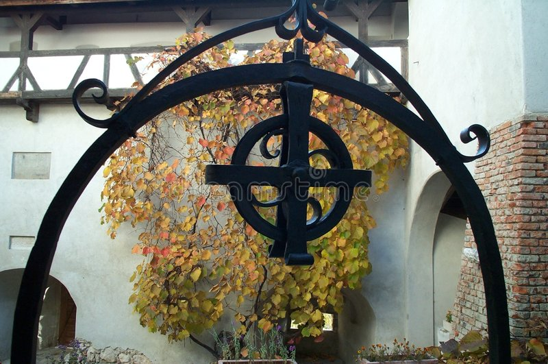 Simbolo Gotico Fotografia Stock Libera da Diritti