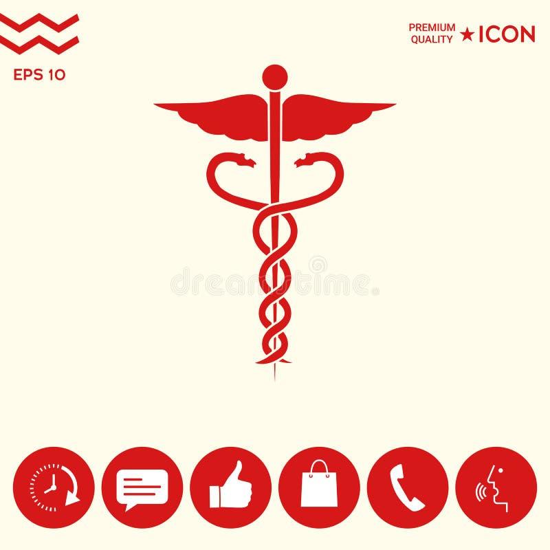 Download Simbolo medico illustrazione vettoriale. Illustrazione di malattia - 117982224