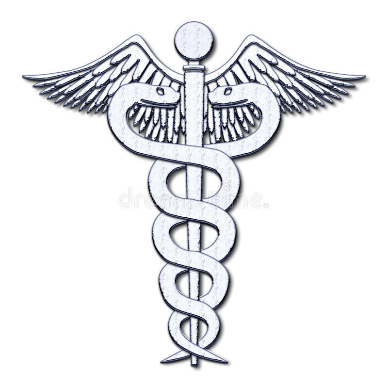 Simbolo medico fotografie stock