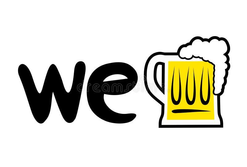 Download Simbolo Piacevole Della Birra Illustrazione Vettoriale - Illustrazione di saporito, amici: 117982171