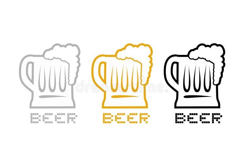 Download Simbolo Piacevole Della Birra Illustrazione Vettoriale - Illustrazione di barra, illustrazione: 117982193