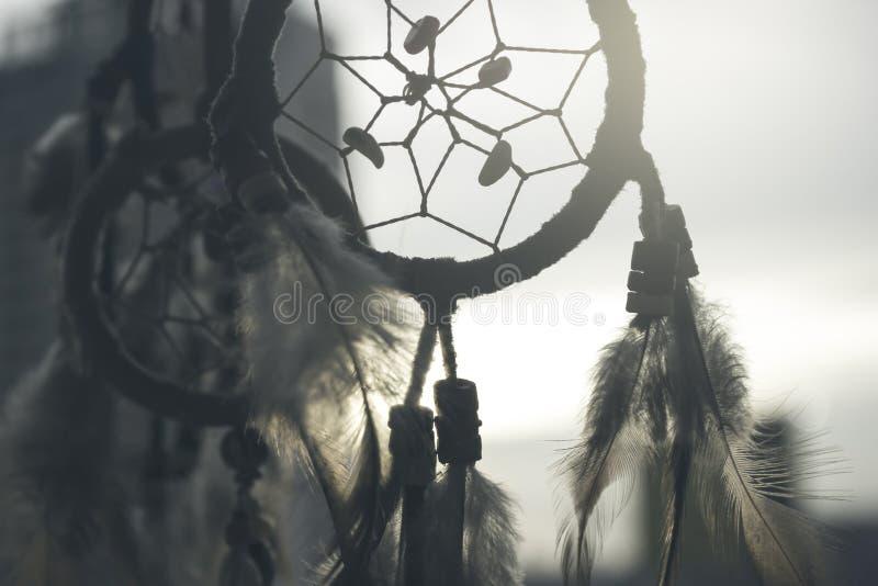 Simbolo, religione, collettore di sogno fotografia stock