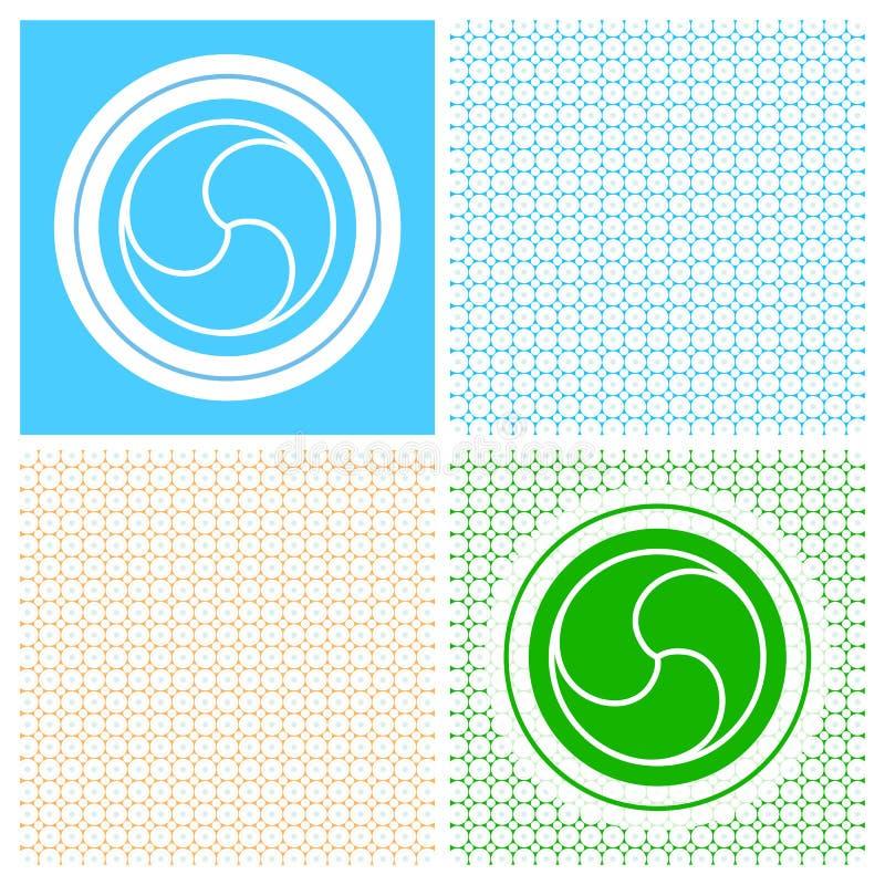 Simbolo religioso (vettore) illustrazione vettoriale