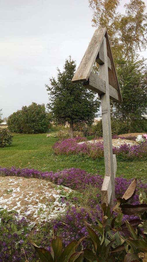 Simettry del monastero di Sviazhski fotografia stock libera da diritti