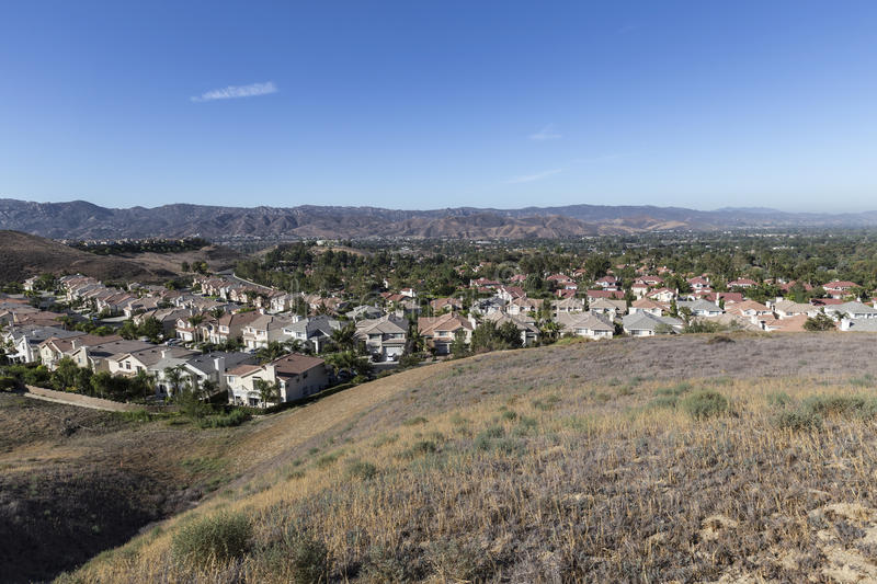 Simi Valley California Neighborhood stock afbeelding
